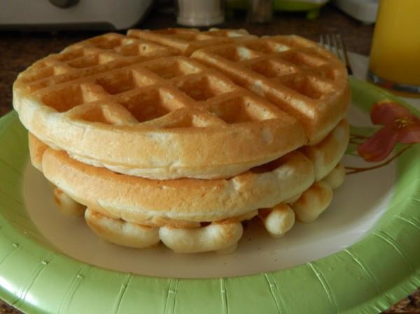 Delicious waffles!