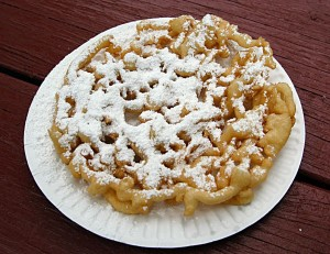 Fair Food Funnel cakes!