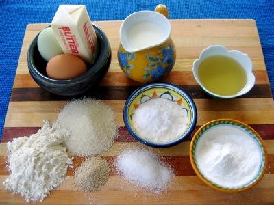 Some basic cooking ingredients