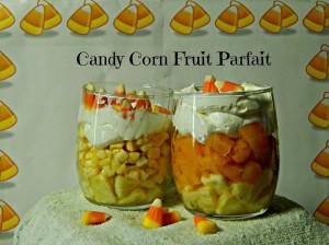candy corn parfait