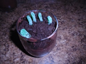 Zombie Hand Cups