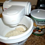 Mix the biscuit dough