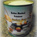 butter mashed potatoes not reconstituted