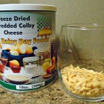 reconstitute freeze dried colby cheese