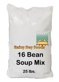16 Bean Soup mix 25 lbs bag
