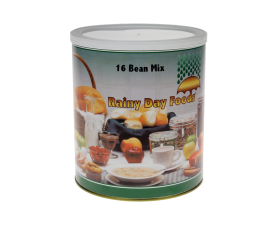 16 Bean Mix - K041 - 84 oz. #10 can