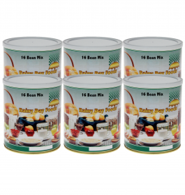 16 Bean Mix - K042 - Case(6) #10 cans