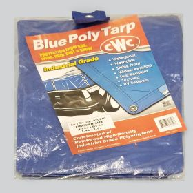Poly Tarp - Q064 - small (5' x 7')