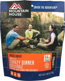 Mountain House Homestyle Turkey Dinner Casserole - M120 - 2 servings