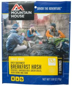 Mountain House Spicy Southwest Breakfast Hash - M124 - mylar pouch