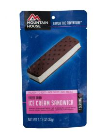 Mountain House Ice Cream Sandwich - M123 - mylar pouch