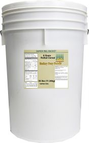 6 Grain rolled cereal Super Pail