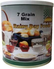 Rainy Day Foods #10 can 7 grain mix-83 oz