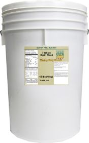7 grain cereal in super pail 42 lbs.