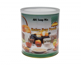 ABC Soup Mix - K001 - 84 oz. #10 can
