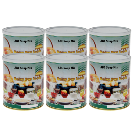 ABC Soup Mix - K002 - Case(6) #10 cans