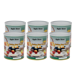 Dehydrated Apple Slices - U074 - Case (6) #2.5 cans