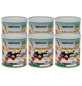 Dehydrated Applesauce - G034 - Case(6) #2.5 cans