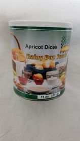 Dehydrated Apricot Dices - G104 - 11 oz #2.5 can