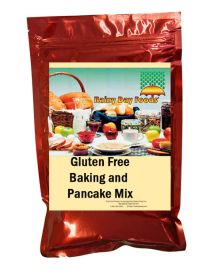 Rainy Day Foods gluten free baking and pancake mix mylar bag
