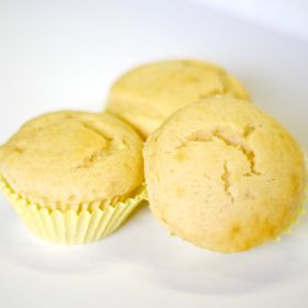 banana muffin mix in a 5# mylar