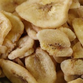 #2.5 can dehydrated banana slices 9 oz.