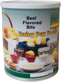 #2.5 can imitation beef flavored bits-10 oz
