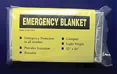 emergency thermal space blanket