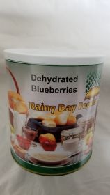 Dehydrated Blueberries - I068- 40 oz #10 can