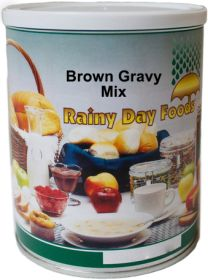 #2.5 can brown gravy mix dehydrated