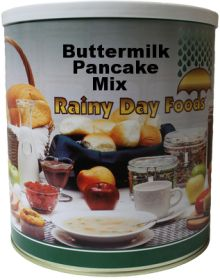 Rainy Day Foods dehdyrated buttermilk pancake mix #10 can