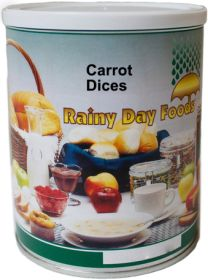 Rainy Day Foods dehdyrated carrots #2.5 can