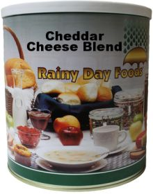 #10 can dehydrated cheddar cheese powder-51 oz