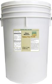 Rainy Day Foods elbow macaroni 6 gallon SP