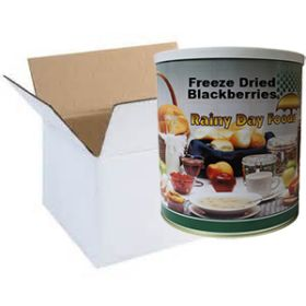 Freeze dried blackberries-whole in case of 6 #2.5 cans
