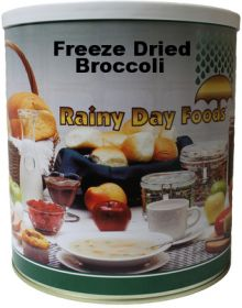 #10 can freeze dried broccoli -7 oz.