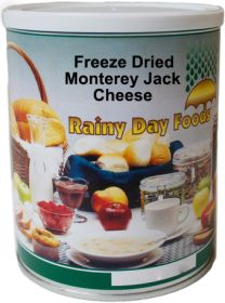 #2.5 can freeze dried monterey jack cheese 10 oz.