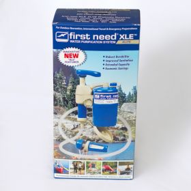 first need water purifier