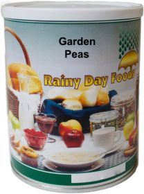 Rainy Day Foods dehydrated sweet garden peas #2.5 can 13 oz.
