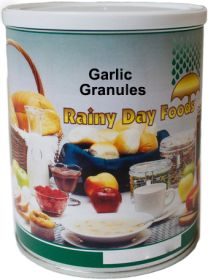 Rainy Day Foods dehydrated garlic granules #2.5 can