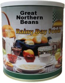 #10 can great northern beans 84 oz.