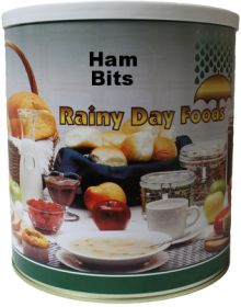 #10 can imitation ham flavored bits 36 oz.