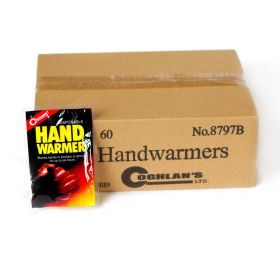 case of 60 hand warmers
