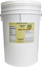 Walton Feed hard red wheat super pail 45 lbs.