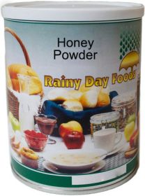 Rainy Day Foods dehdyrated honey powder