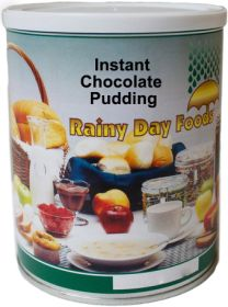 Rainy Day Foods chocolate pudding #2.5 can 22 oz.