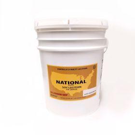 liquid lecithin in a 41 lb bucket