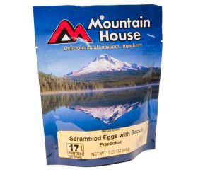 mountain house pre-cooked eggs with bacon