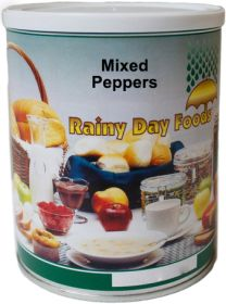 Rainy Day Foods dehydrated mixed bell peppers #2.5 can 5 oz.