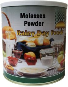 Rainy Day Foods dehydrated molasses powder #10 can